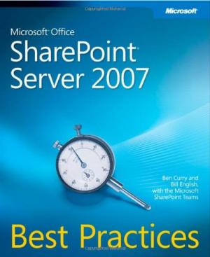 SharePoint 2007 Best Practices Book Cover