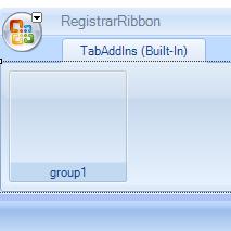 Registrar Ribbon Empty