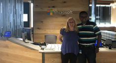 Microsoft Technology Center St. Louis Front Desk