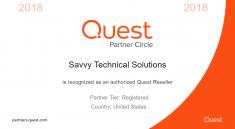 Quest Partner Certificate