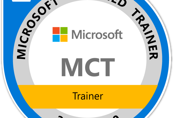 Microsoft Certified Trainer 2019-2020
