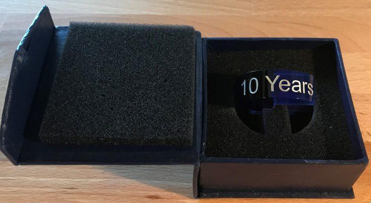 10 year MVP ring
